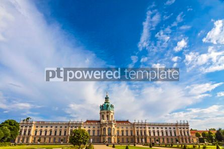 Architecture : Charlottenburg Palace in Berlin Germany #09369