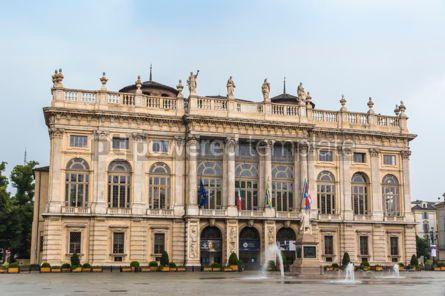 Architecture : Palazzo Madama in Turin Italy #09373