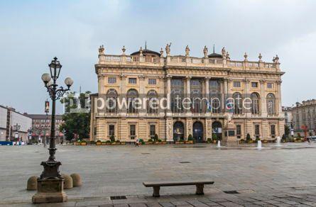 Architecture : Palazzo Madama in Turin Italy #09374
