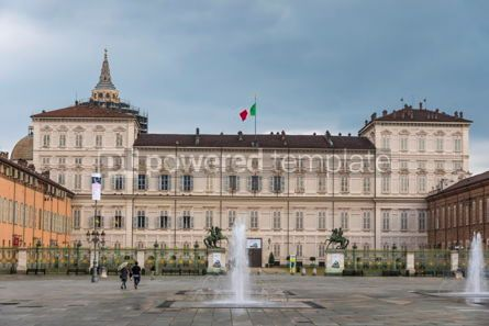 Architecture : Royal Palace (Palazzo Reale) in Turin Italy #09375