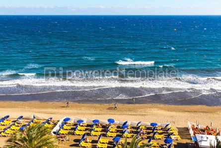 Nature: Maspalomas Beach Gran Canaria island Canary islands Spain #09381