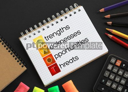 Business: SWOT Analysis business concept #09392