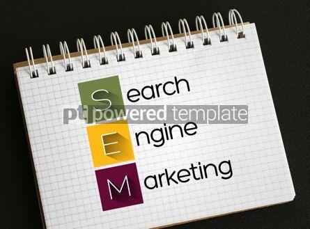 Business: SEM - Search Engine Marketing acronym #09393