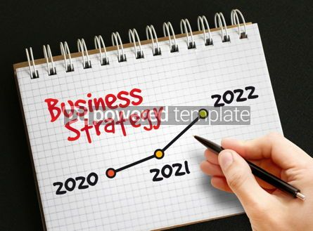 Business: 2020 - 2022 Years Timeline of Business Strategy #09394