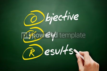 Business: OKR - Objective Key Results acronym #09416