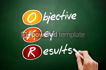 Business: OKR - Objective Key Results acronym #09417