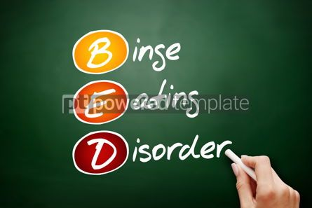 Business: BED - Binge Eating Disorder acronym #09433