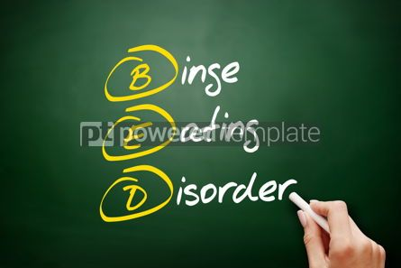 Business: BED - Binge Eating Disorder acronym #09434