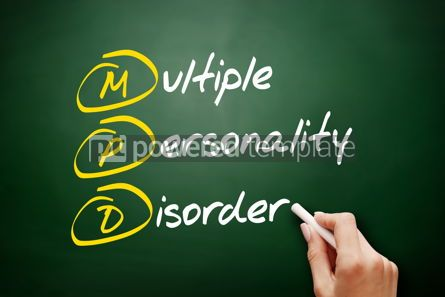Business: MPD - Multiple Personality Disorder acronym #09441