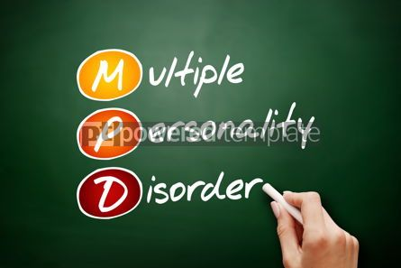 Business: MPD - Multiple Personality Disorder acronym #09442