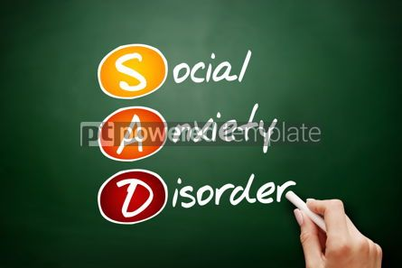 Business: SAD - Social Anxiety Disorder acronym #09449