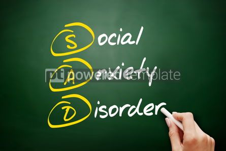 Business: SAD - Social Anxiety Disorder acronym #09450