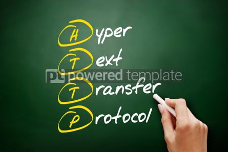 Technology: HTTP - Hyper Text Transfer Protocol acronym #09457