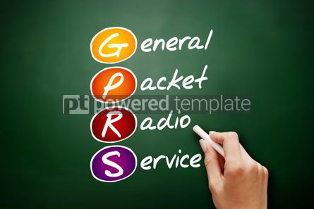 Technology: GPRS - General Packet Radio Service acronym #09462
