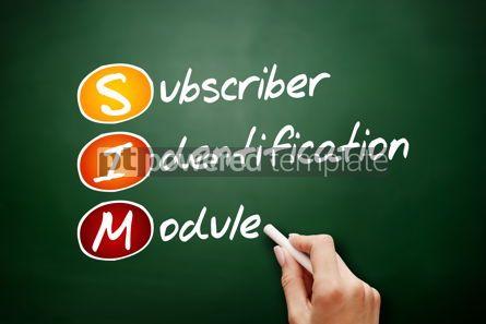 Education: SIM - Subscriber Identification Module acronym #09485