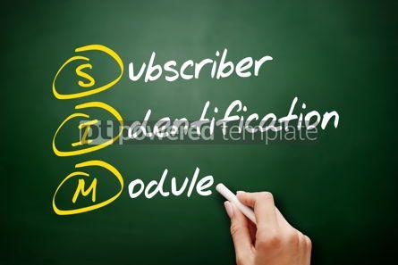 Education: SIM - Subscriber Identification Module acronym #09486