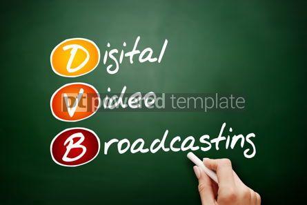 Education: DVB - Digital Video Broadcasting acronym #09487