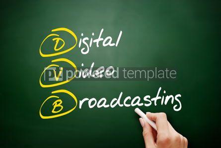 Education: DVB - Digital Video Broadcasting acronym #09488