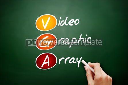 Education: VGA - Video Graphic Array acronym #09489