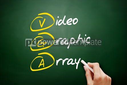 Education: VGA - Video Graphic Array acronym #09490