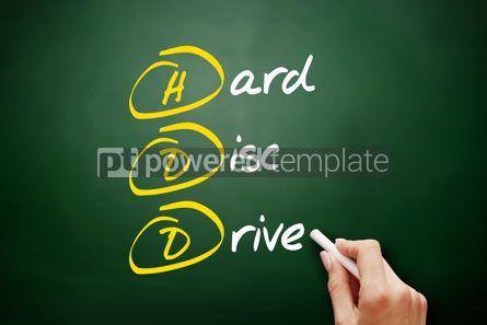 Education: HDD - Hard Disc Drive acronym #09492