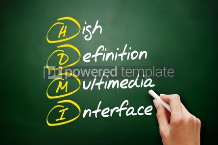 Education: HDMI - High Definition Multimedia Interface acronym #09496
