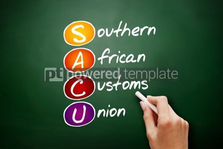 Business: SACU - Southern African Customs Union acronym #09519