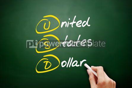 Business: USD - United States Dollar acronym #09528