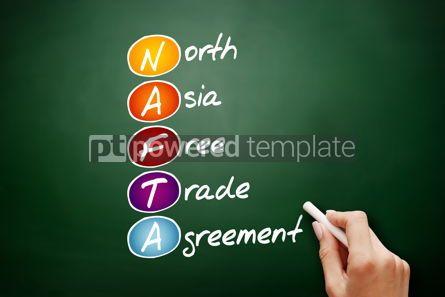 Business: NAFTA - North Asia Free Trade Agreement acronym #09533