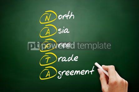 Business: NAFTA - North Asia Free Trade Agreement acronym #09534