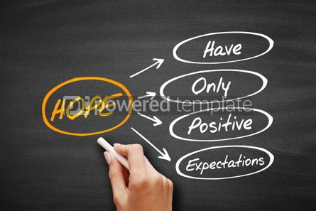 Business: HOPE - Hanging Onto Positive Expectations #09544