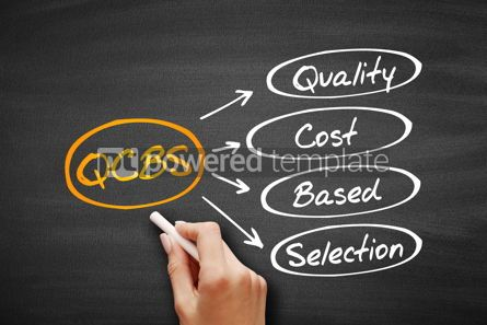 Business: QCBS - Quality and Cost Based Selection acronym #09552