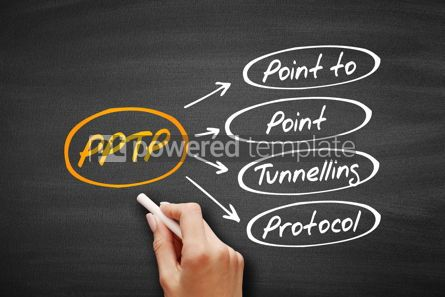 Business: PPTP - Point to Point Tunnelling Protocol acronym #09556