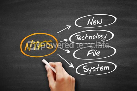 Business: NTFS - New Technology File System acronym #09561