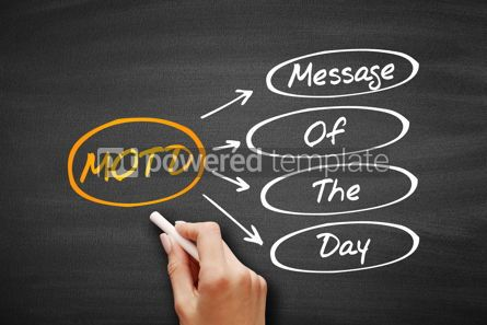 Business: MOTD - Message Of The Day acronym #09562