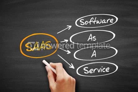 Education: SAAS - Software As A Service acronym #09574