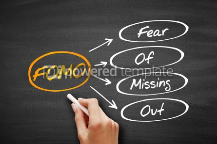 Education: FOMO - Fear Of Missing Out acronym #09577