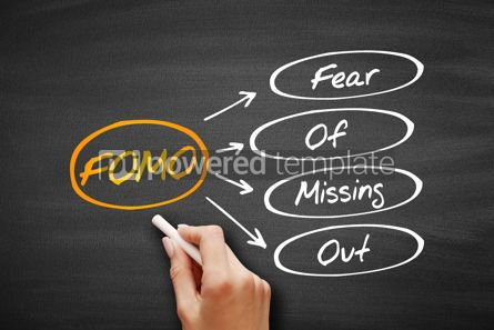 Business: FOMO - Fear Of Missing Out acronym #09581
