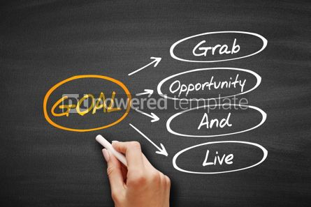 Business: GOAL - Grab Opportunity And Live acronym #09583