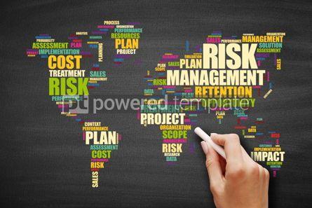 Business: Risk Management word cloud concept background #09591