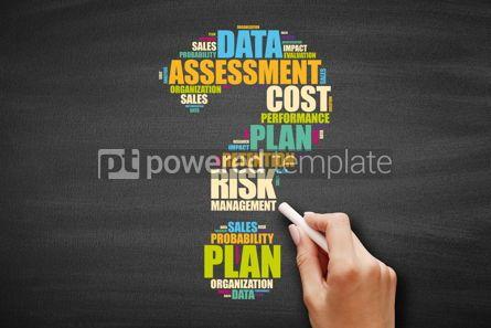 Business: Risk Management word cloud #09595