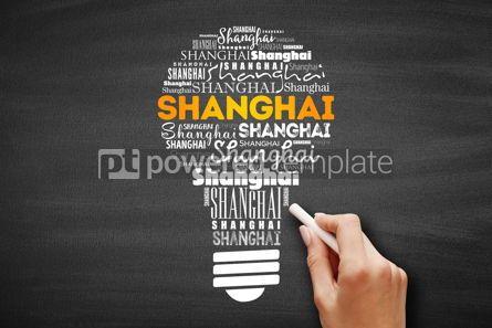 Business: Shanghai light bulb word cloud #09708