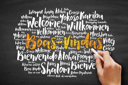 Business: Boas-Vindas (Welcome in Brazilian Portuguese) #09721