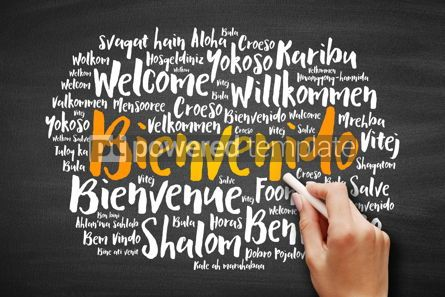 Business: Bienvenido (Welcome in Spanish) word cloud #09727