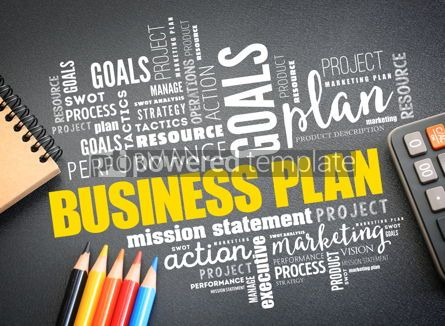 Business: Business plan word cloud collage #09730