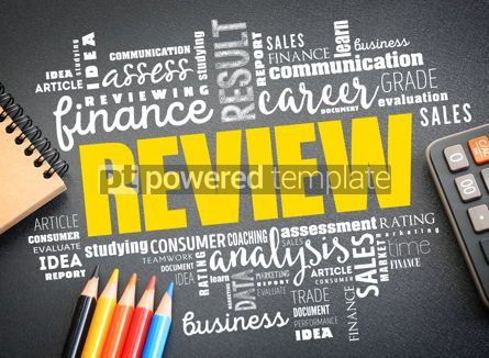 Business: Review word cloud collage business concept #09731