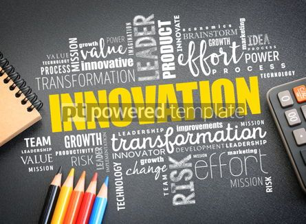 Business: INNOVATION word cloud collage #09732