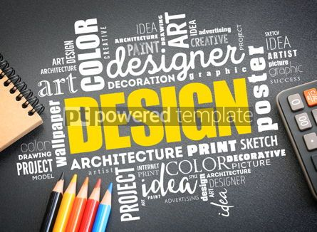 Business: DESIGN word cloud collage #09733