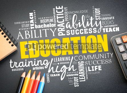 Business: EDUCATION word cloud collage #09741
