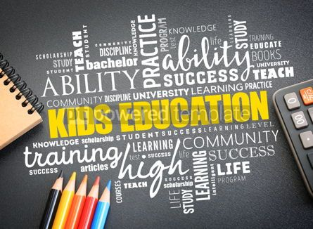 Business: Kids Education word cloud collage #09742